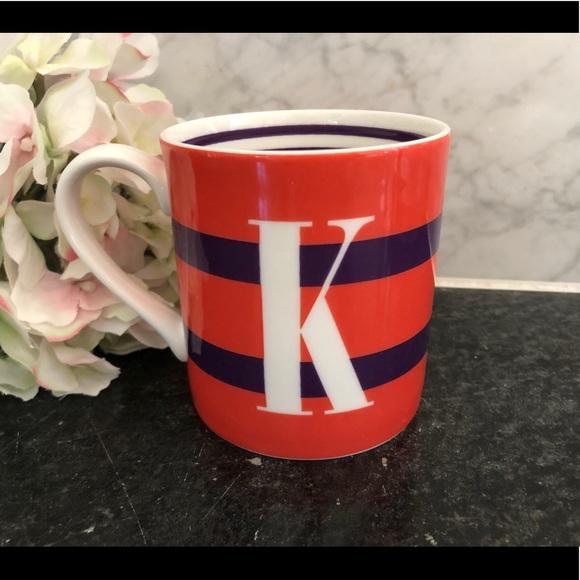 "Kate Spade x Lenox To The Letter ""K"" Mug"